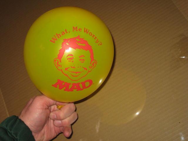 Balloon Office Premium Promo Alfred E. Neuman • USA