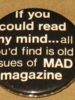 Go to Duck & Cover MAD Magazine Pinback Button