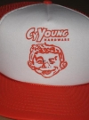 Cy Young Hardware Mesh Truckers Hat • USA Manufactor: Nissin Publication Date: 1970