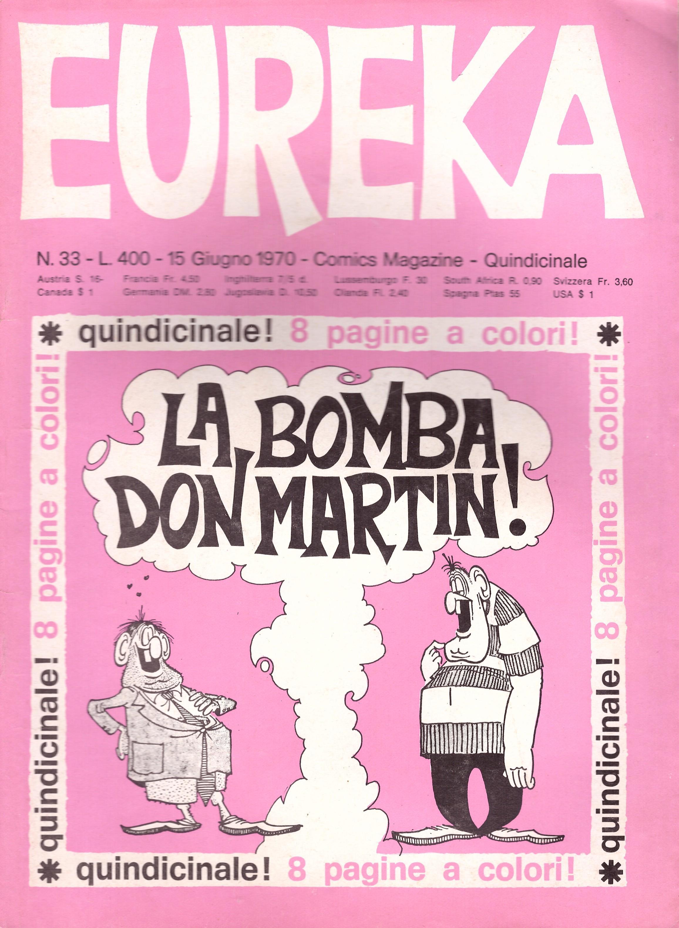 Eureka #33 • Italy