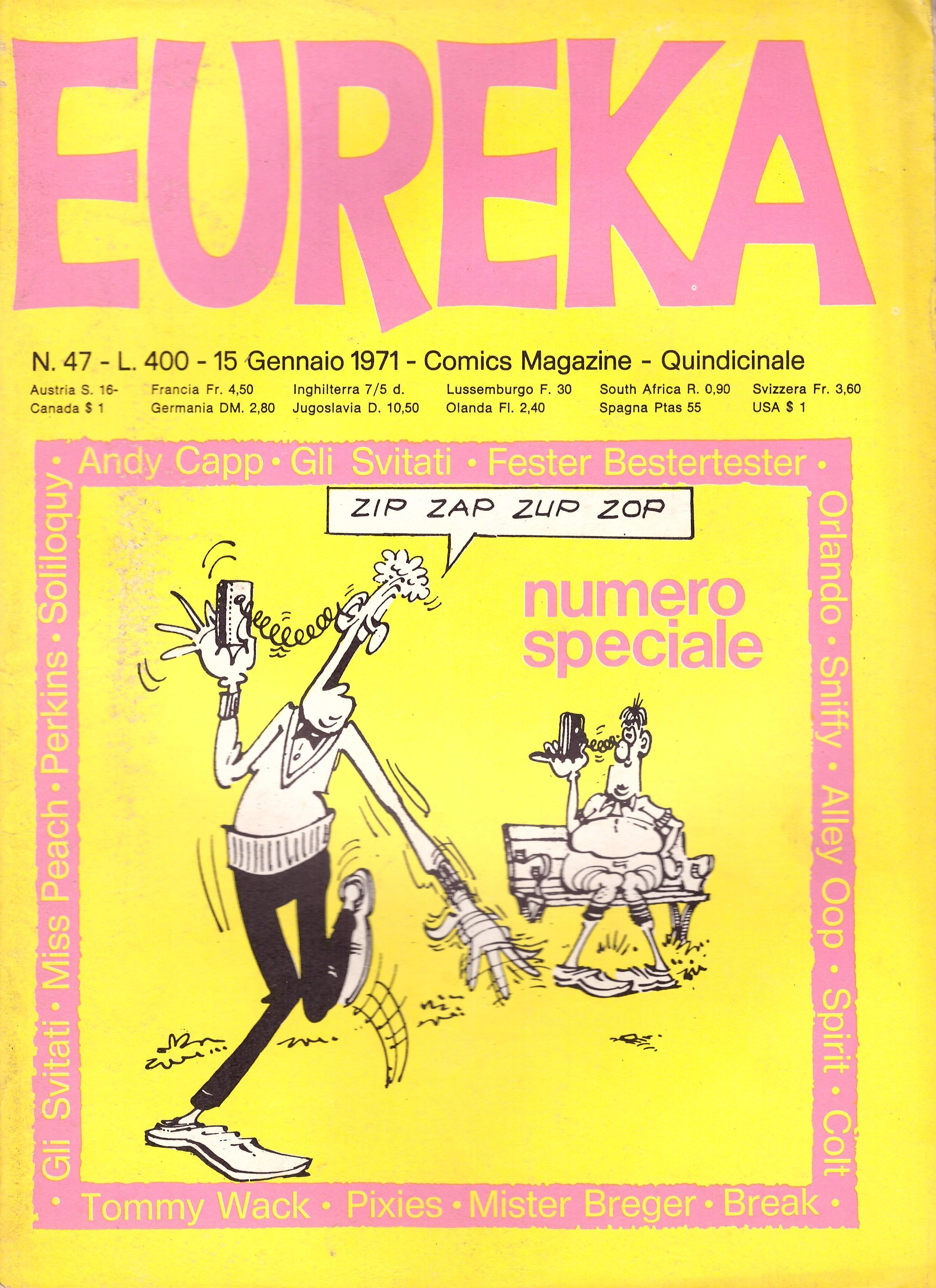 Eureka #47 • Italy