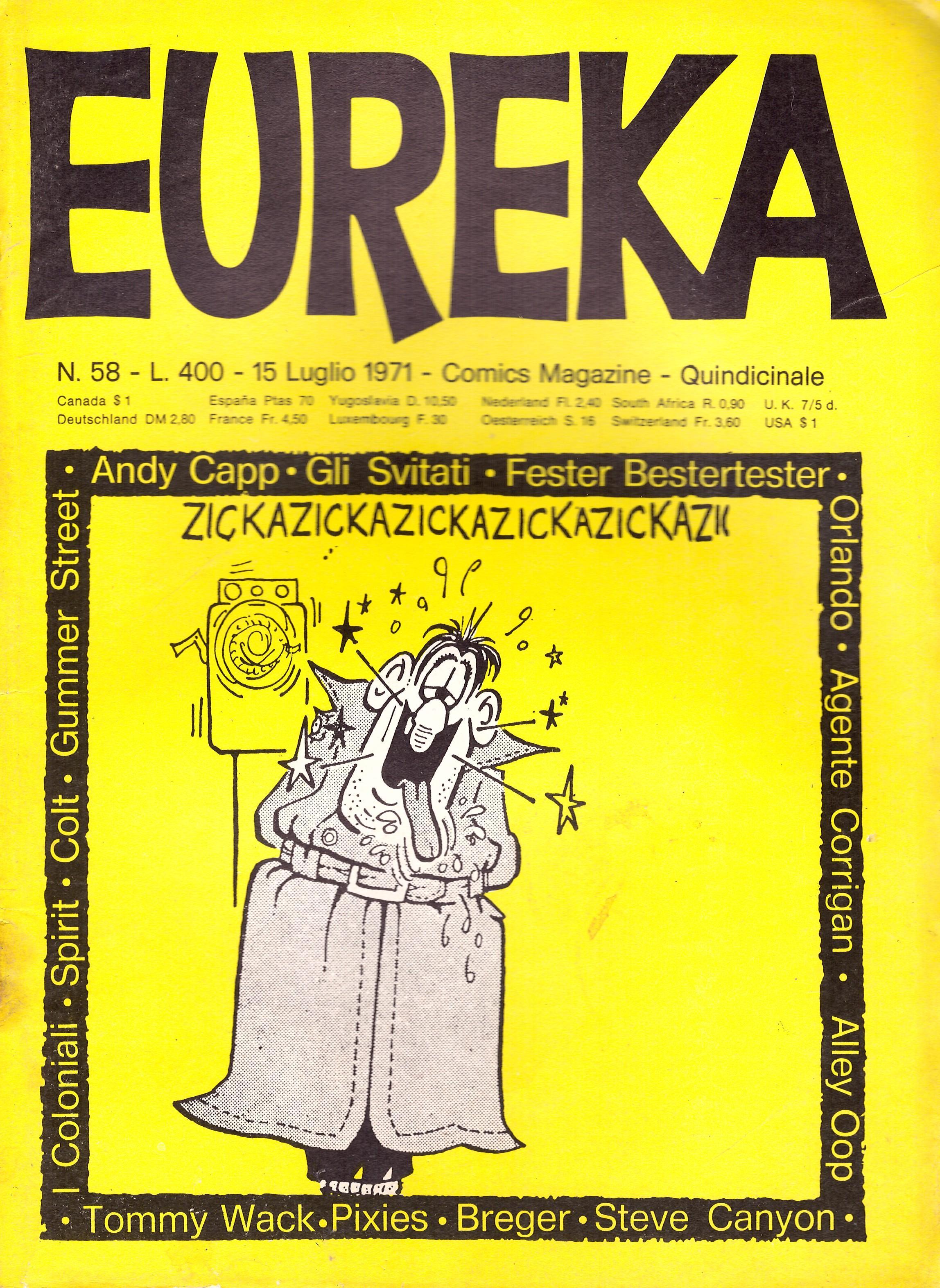 Eureka #58 • Italy