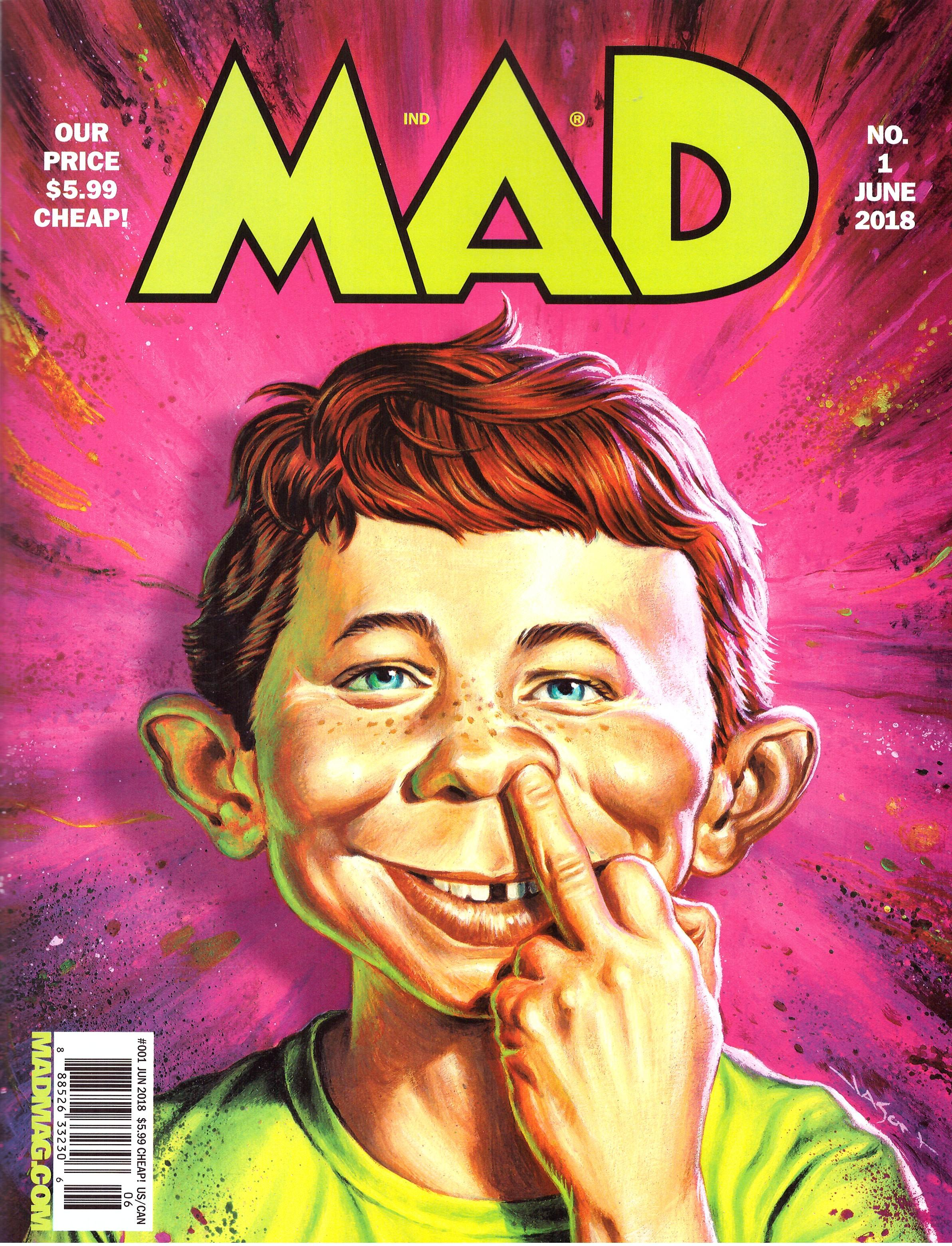 MAD Magazine #1 • USA • 2nd Edition - California