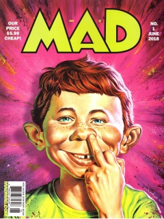 Go to MAD Magazine #1 • USA • 2nd Edition - California