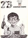 73 Amateur Radio • USA Original price: 60c Publication Date: 1st April 1967