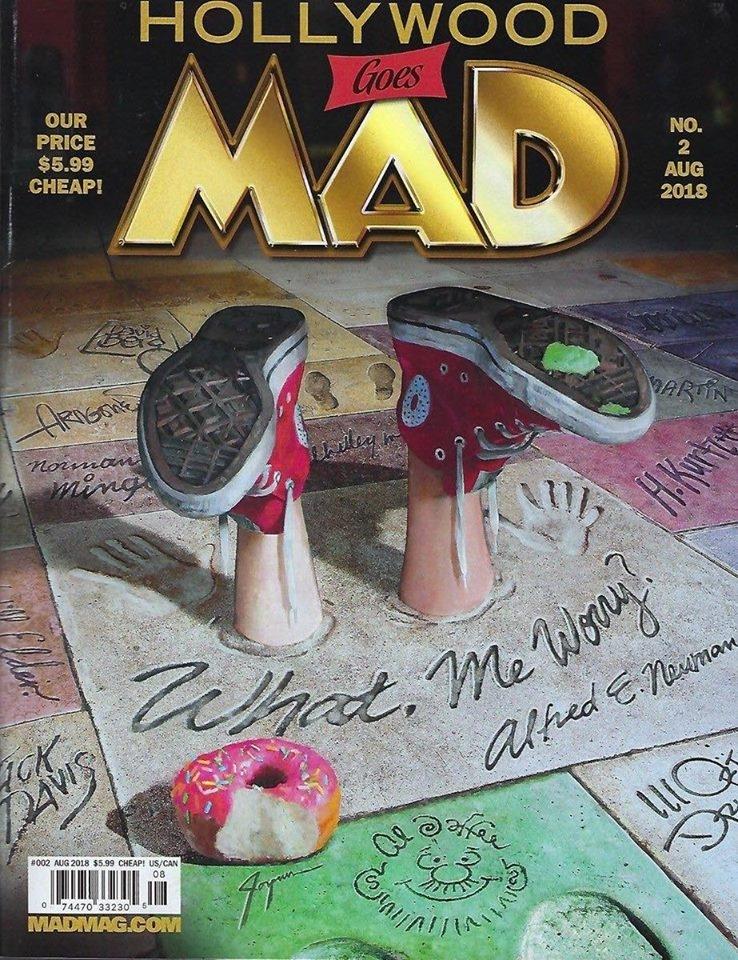 MAD Magazine #2 • USA • 2nd Edition - California