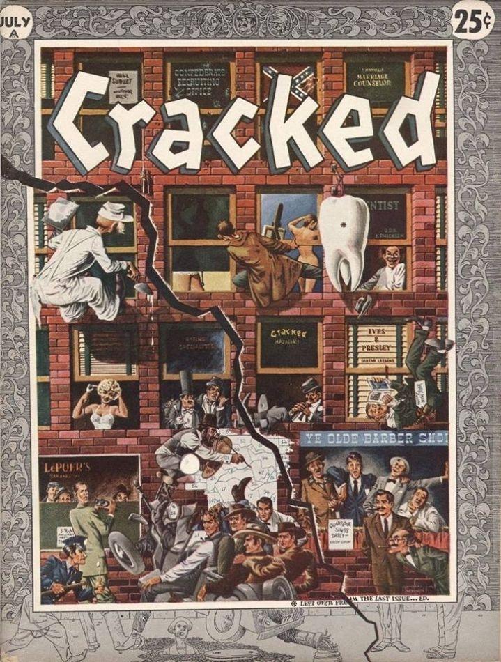 Cracked #3 • USA