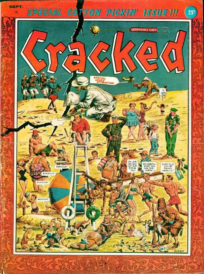 Cracked #4 • USA