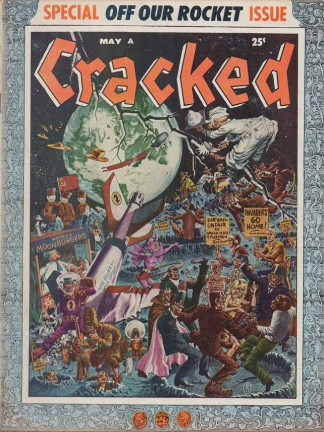 Cracked #9 • USA