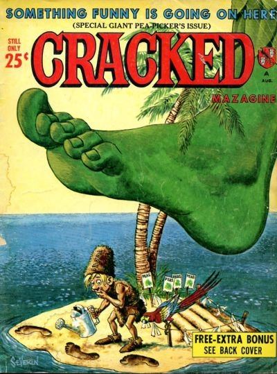 Cracked #45 • USA