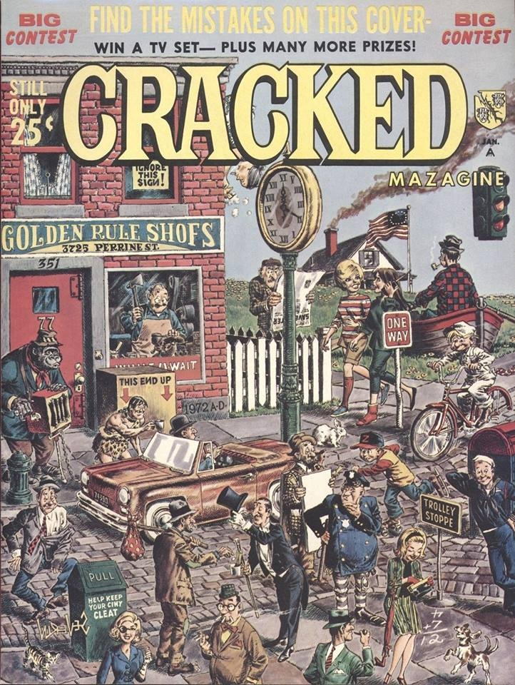 Cracked #49 • USA