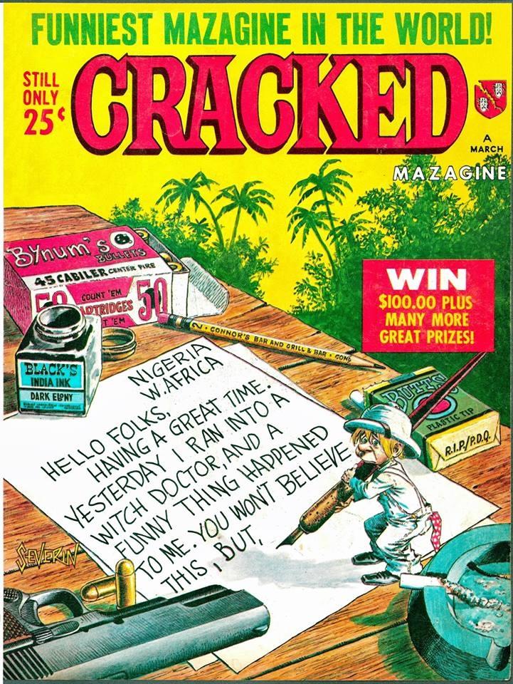 Cracked #50 • USA