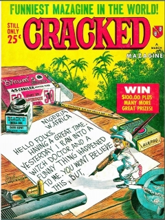 Go to Cracked #50 • USA