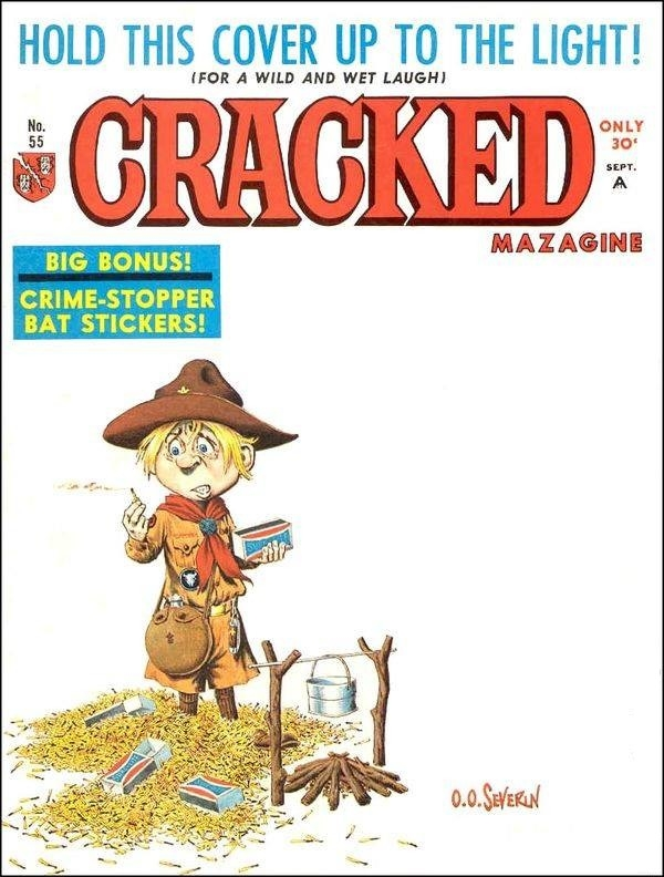 Cracked #55 • USA