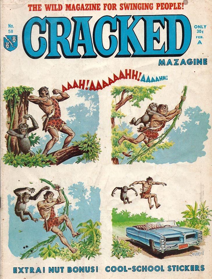 Cracked #58 • USA