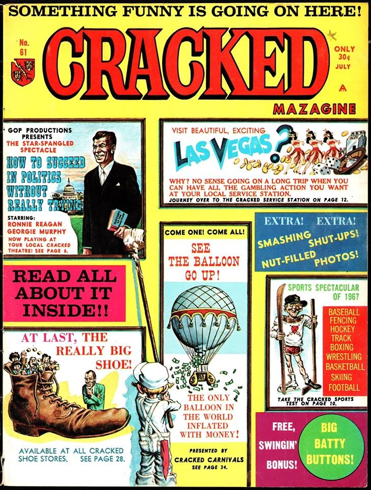 Cracked #61 • USA