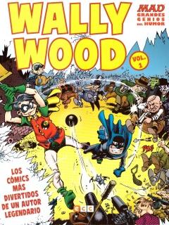MAD Grandes Genios Del Humor: Wally Wood #1 • Spain