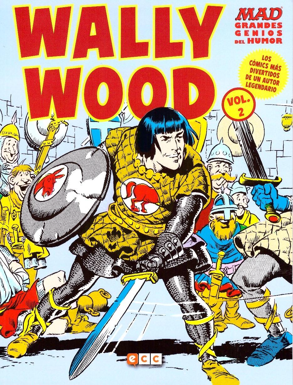 MAD Grandes Genios Del Humor: Wally Wood #2 • Spain