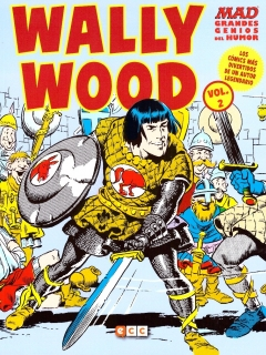 Go to MAD Grandes Genios Del Humor: Wally Wood #2 • Spain