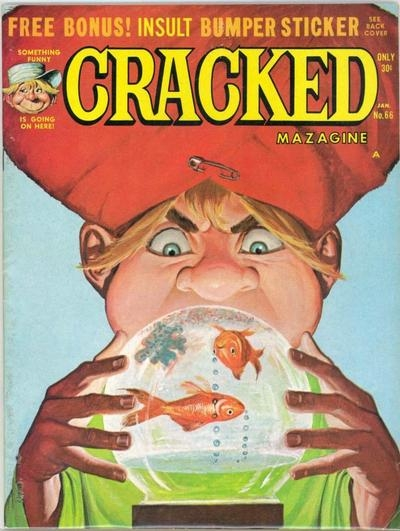 Cracked #66 • USA
