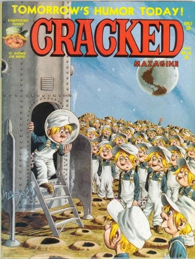 Cracked #68 • USA