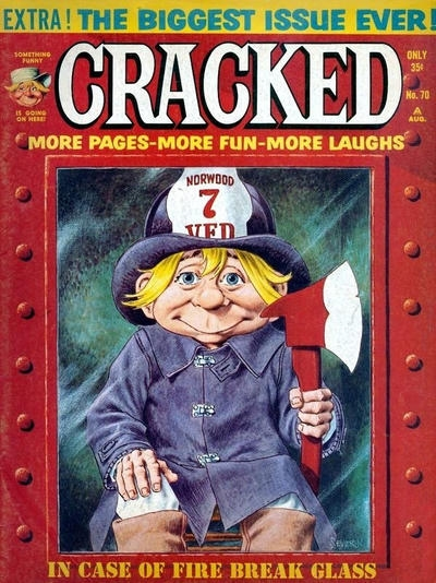 Cracked #70 • USA