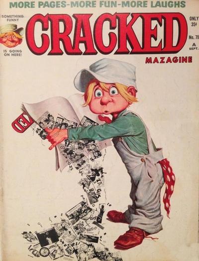 Cracked #71 • USA