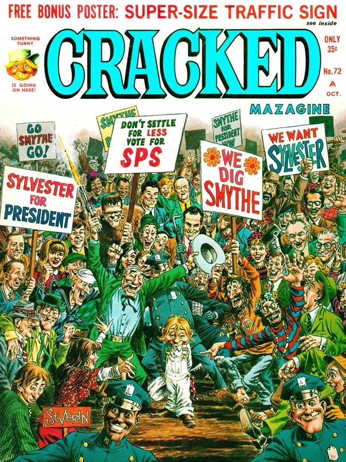 Cracked #72 • USA