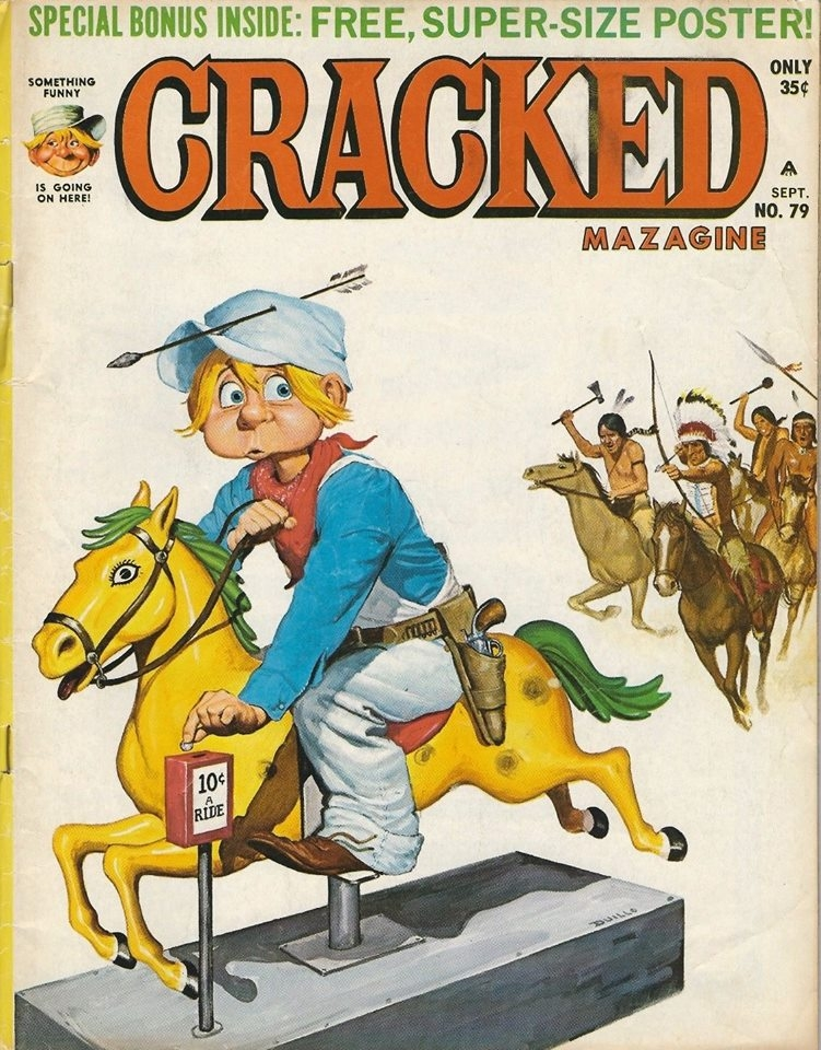 Cracked #79 • USA