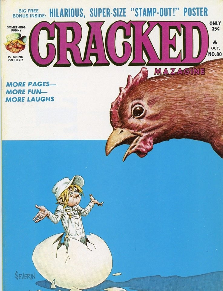 Cracked #80 • USA