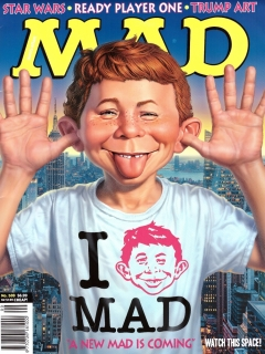 Go to MAD Magazine #509 • Australia
