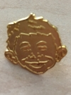 Pin Golden Alfred E. Neuman Face • USA