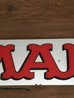 Go to MAD Magazine Mirrored Logo Display • Sweden