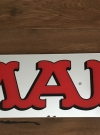 MAD Magazine Mirrored Logo Display • Sweden