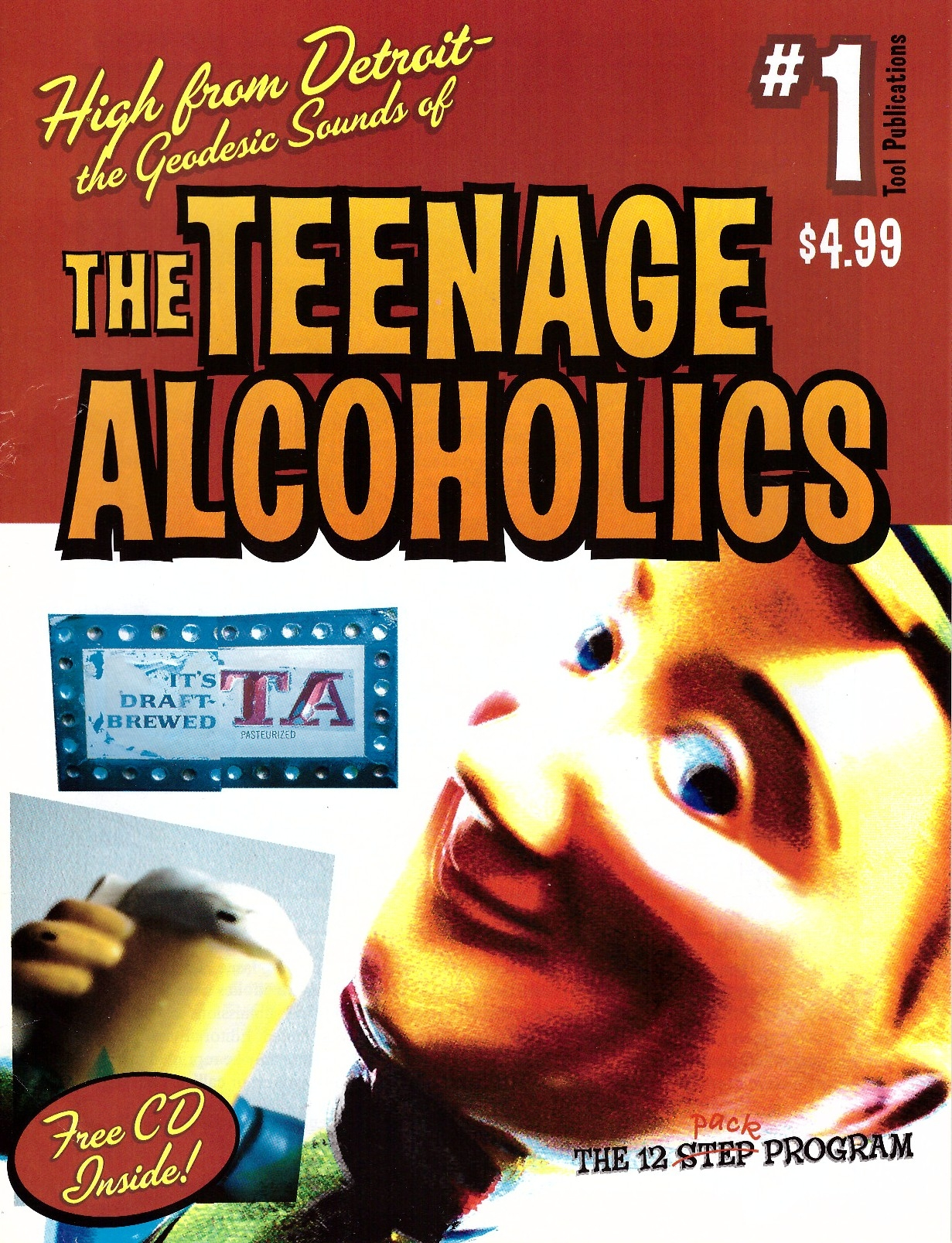 The Teenage Alcoholics #1 • USA