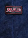 Image of Blue MAD Spy vs Spy Men's Silk Tie