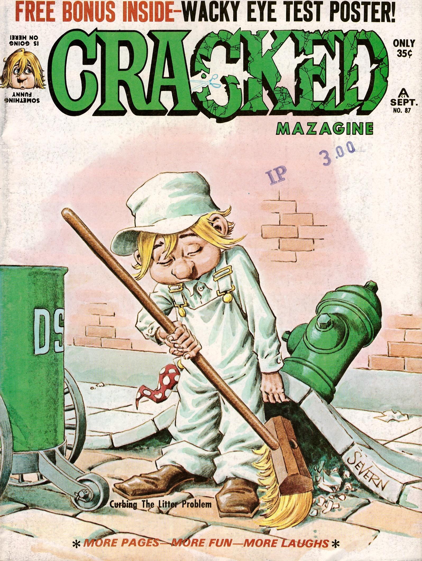 Cracked #87 • USA