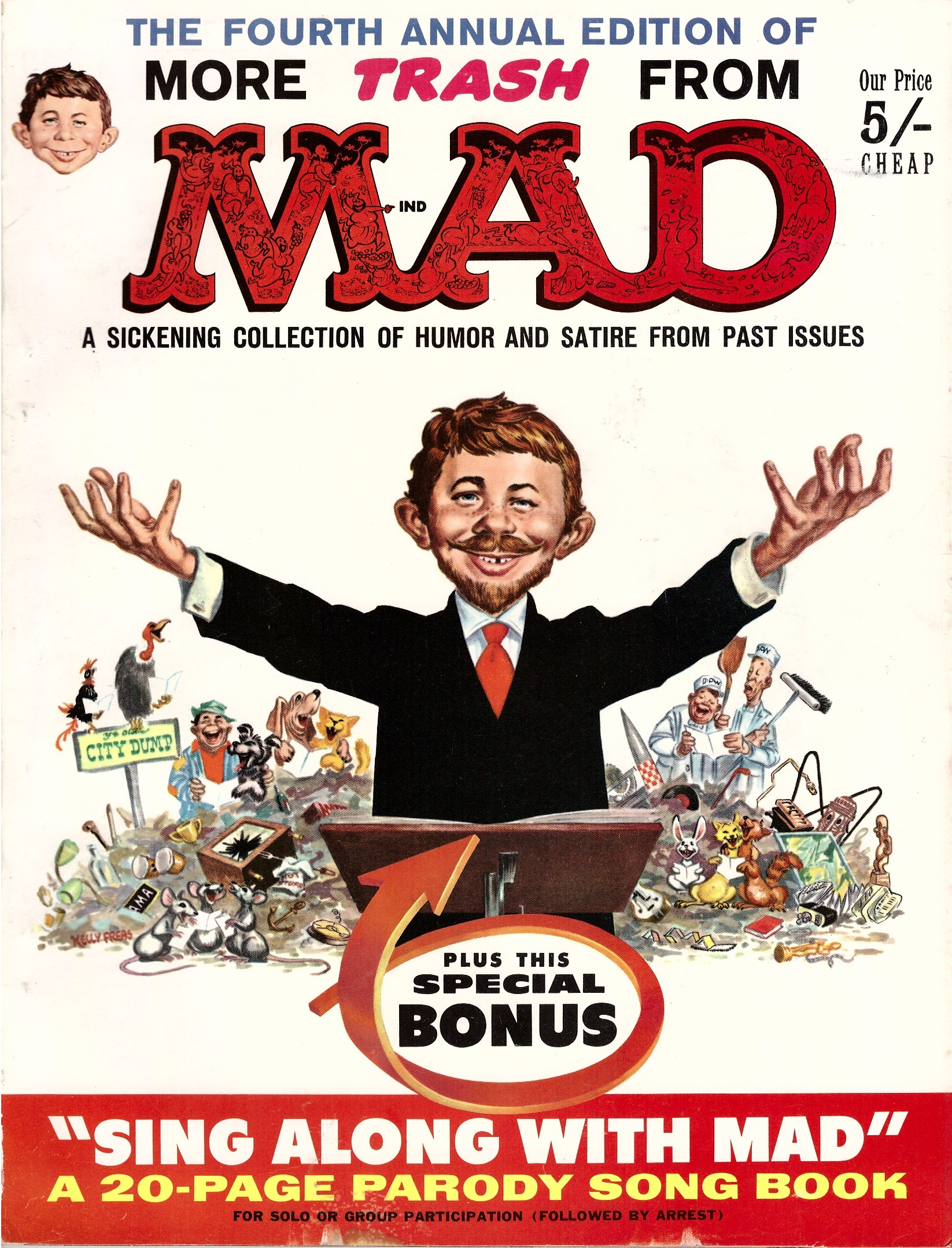More Trash from MAD #4 • Great Britain