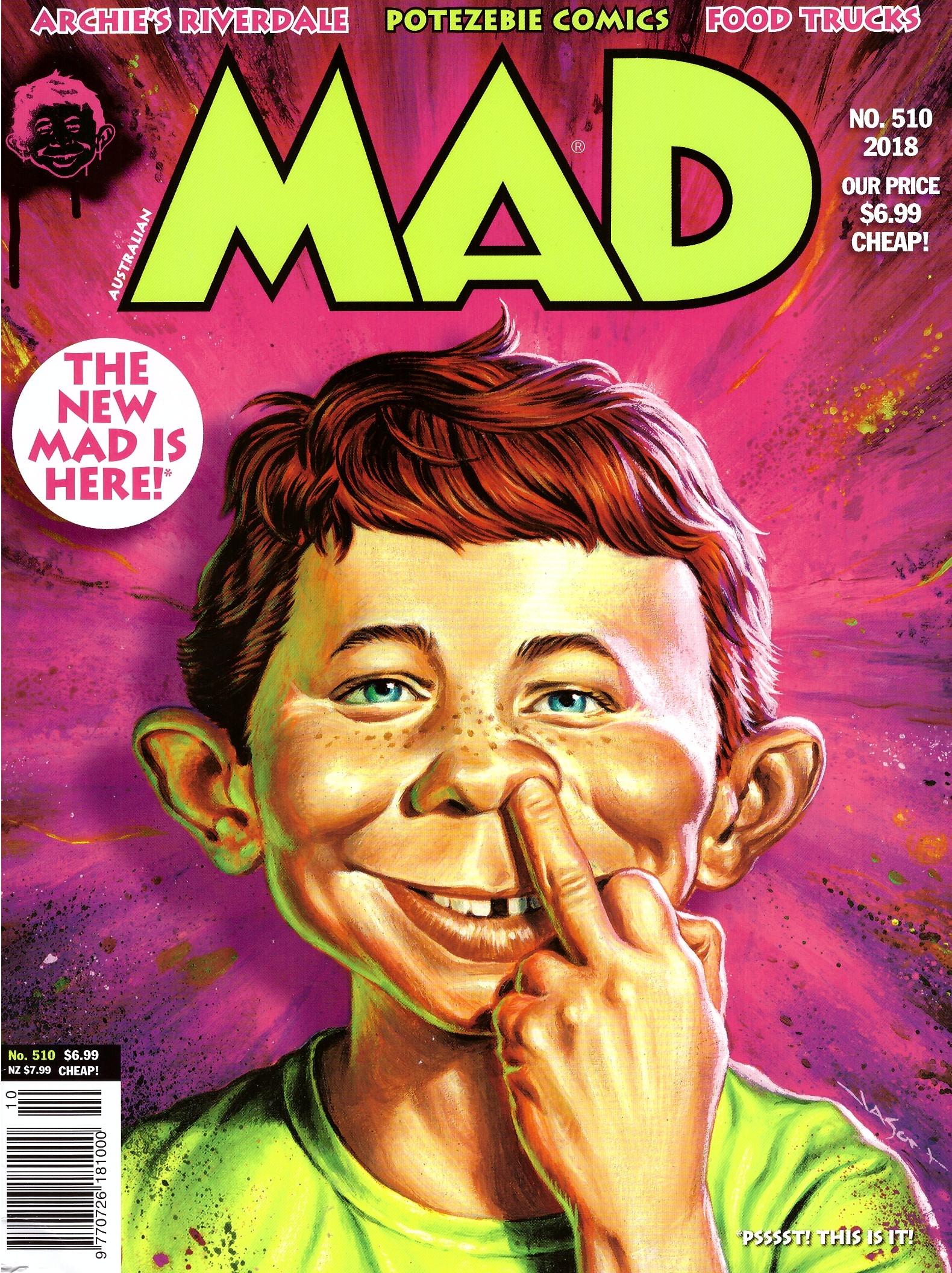 MAD Magazine #510 • Australia