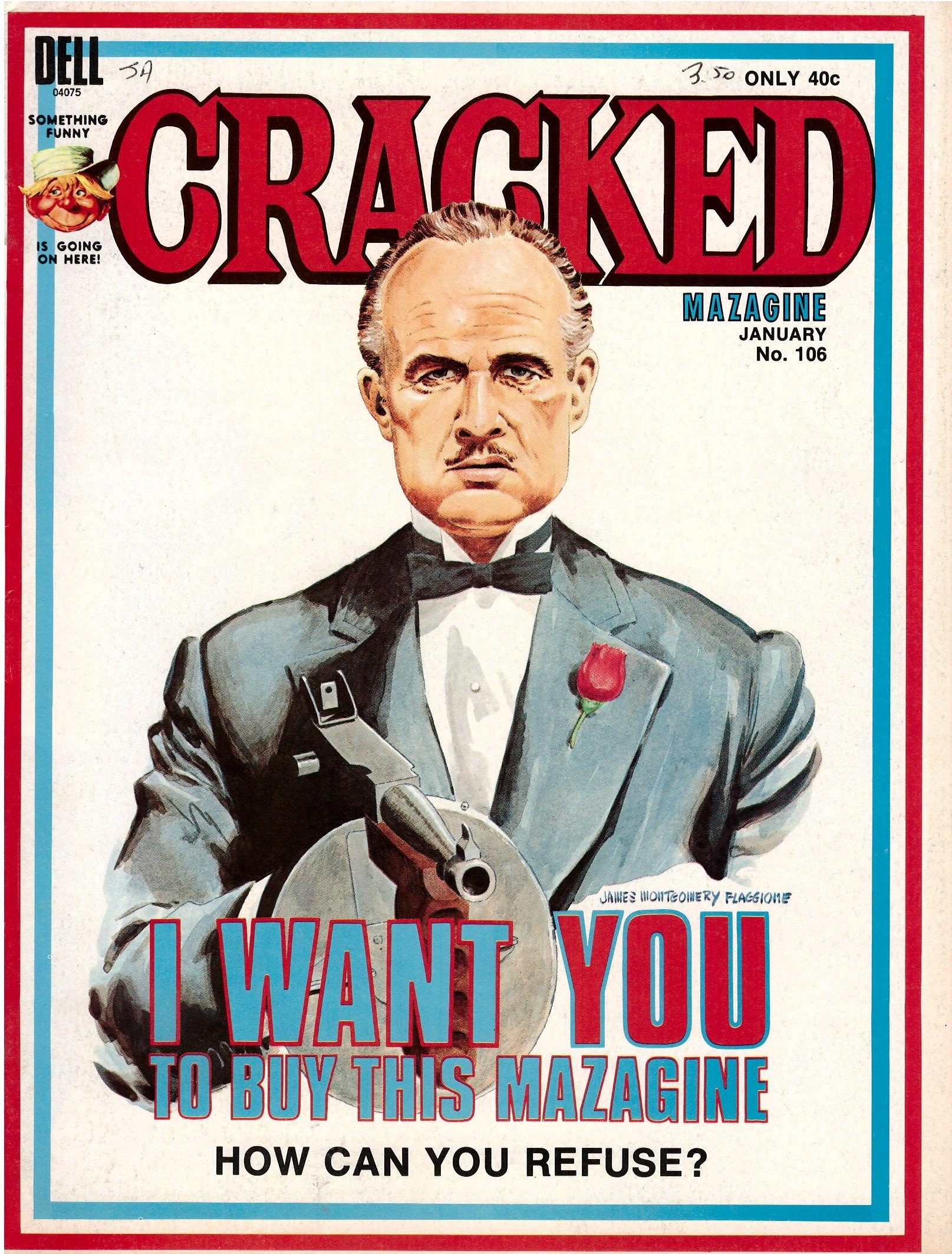 Cracked #106 • USA