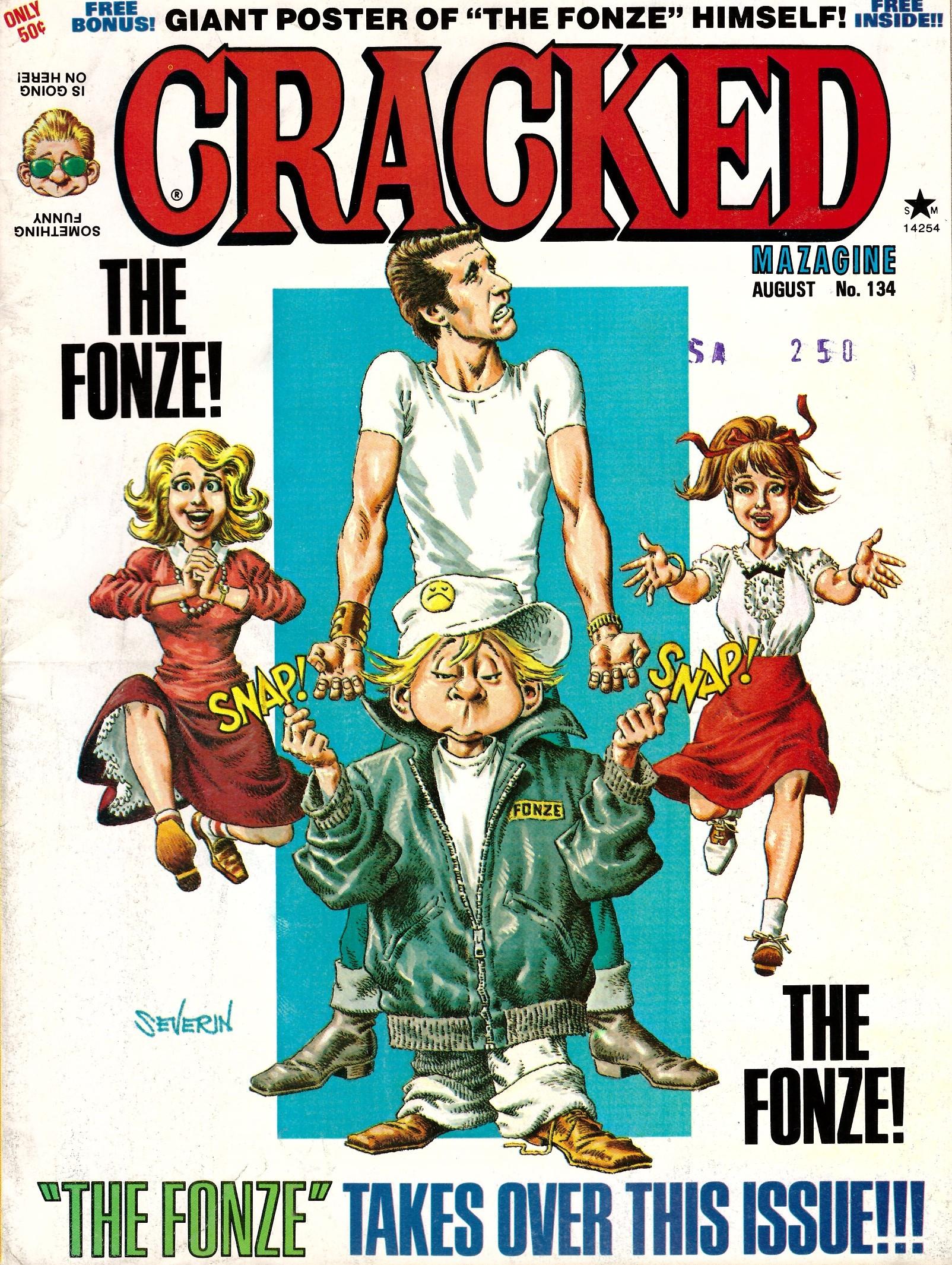 Cracked #134 • USA