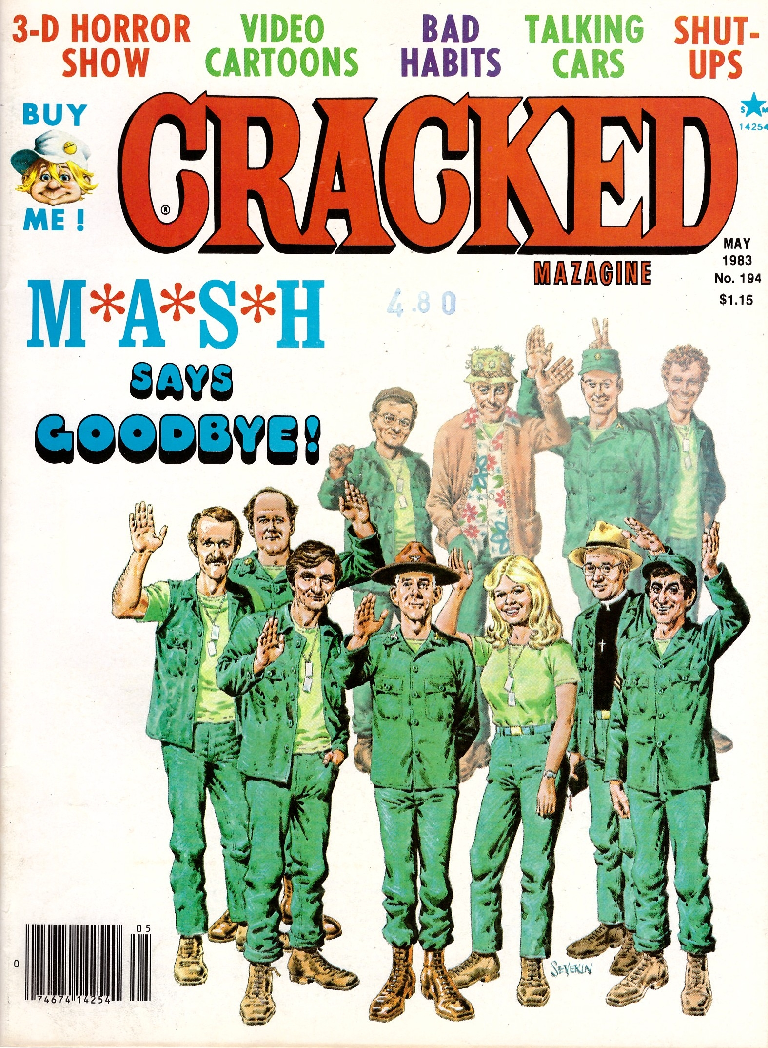 Cracked #194 • USA
