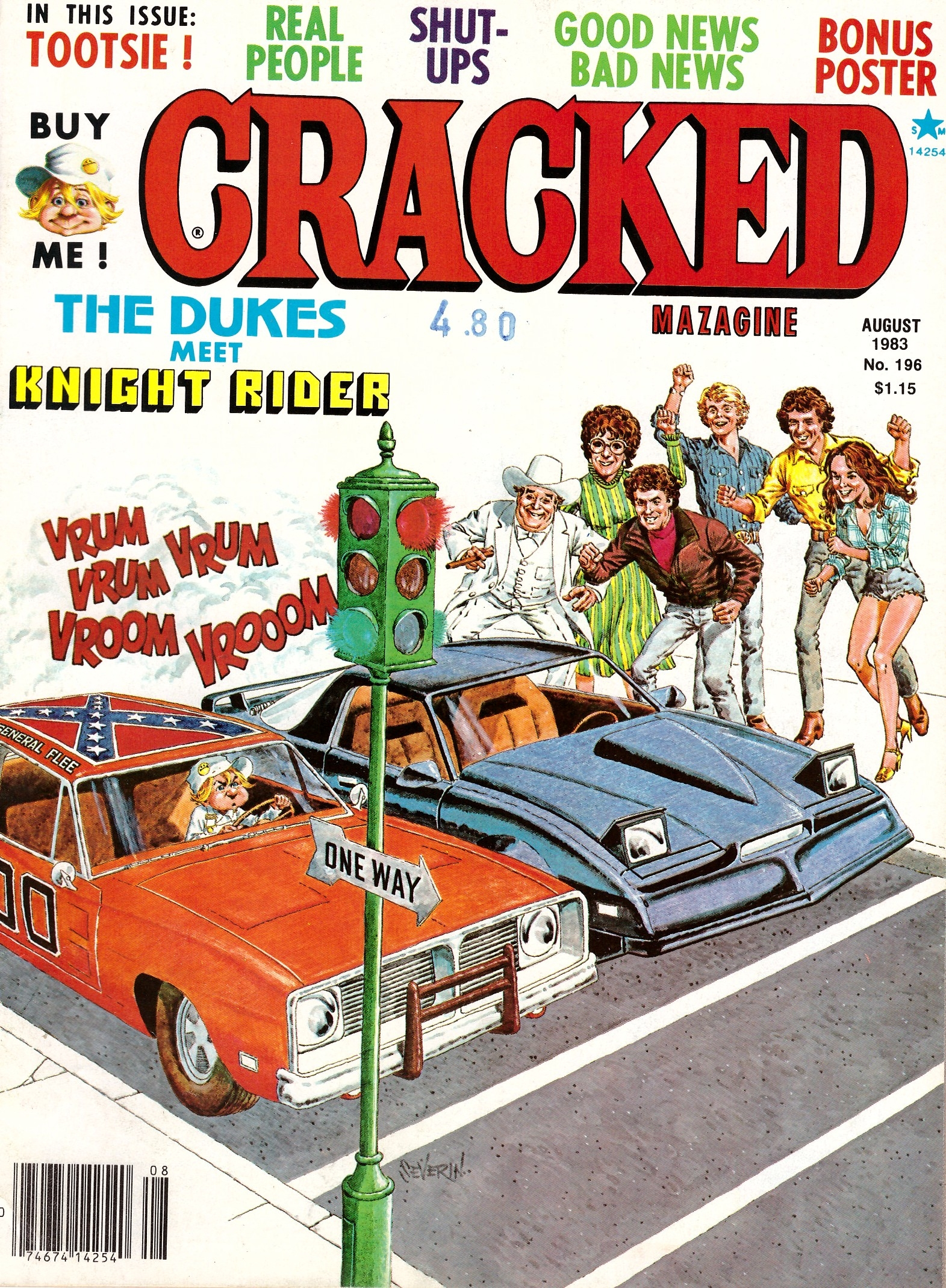 Cracked #196 • USA