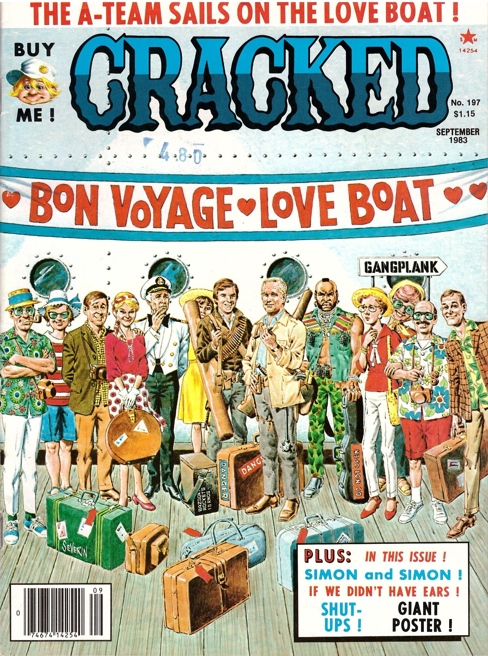 Cracked #197 • USA