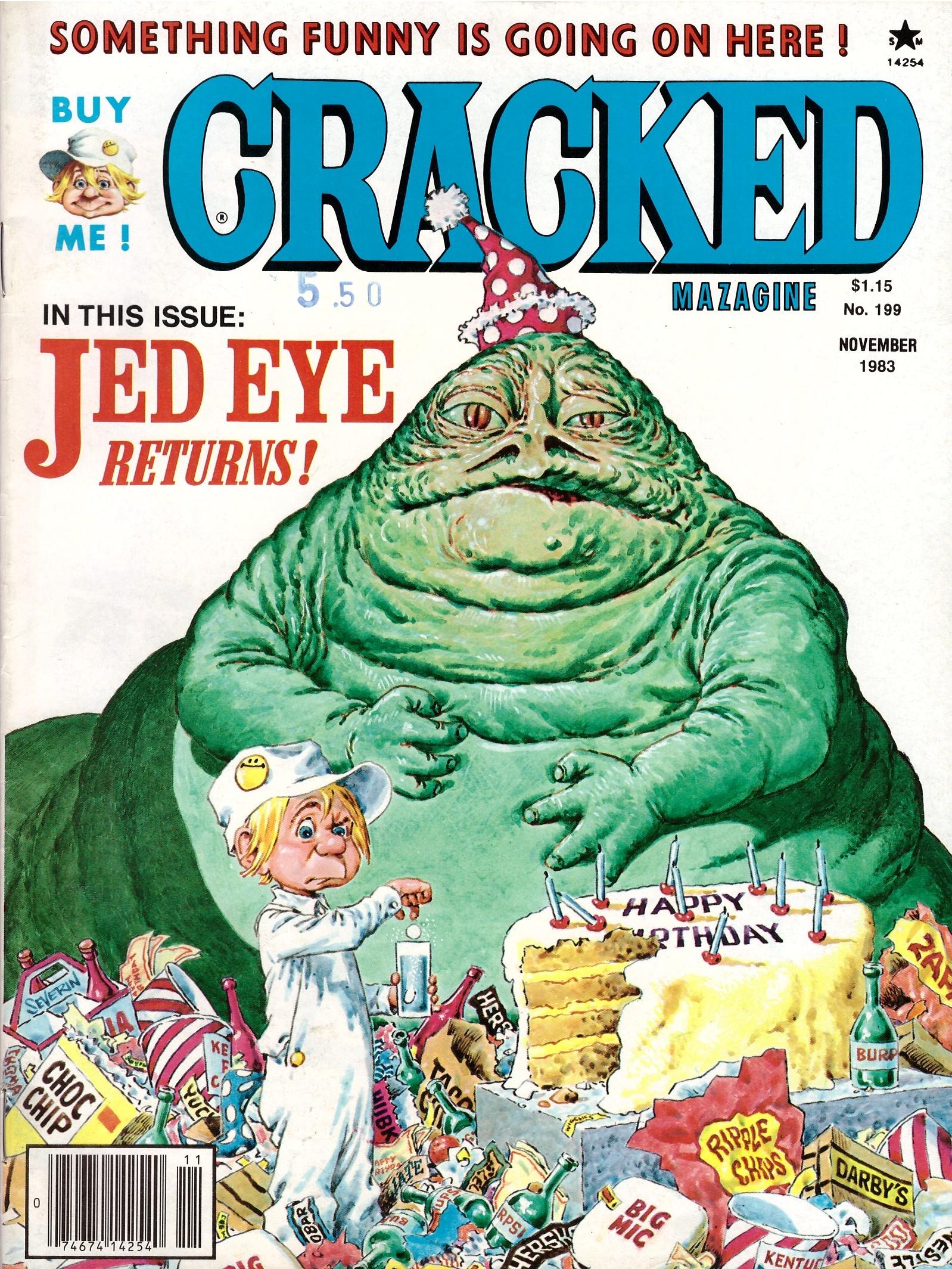 Cracked #199 • USA