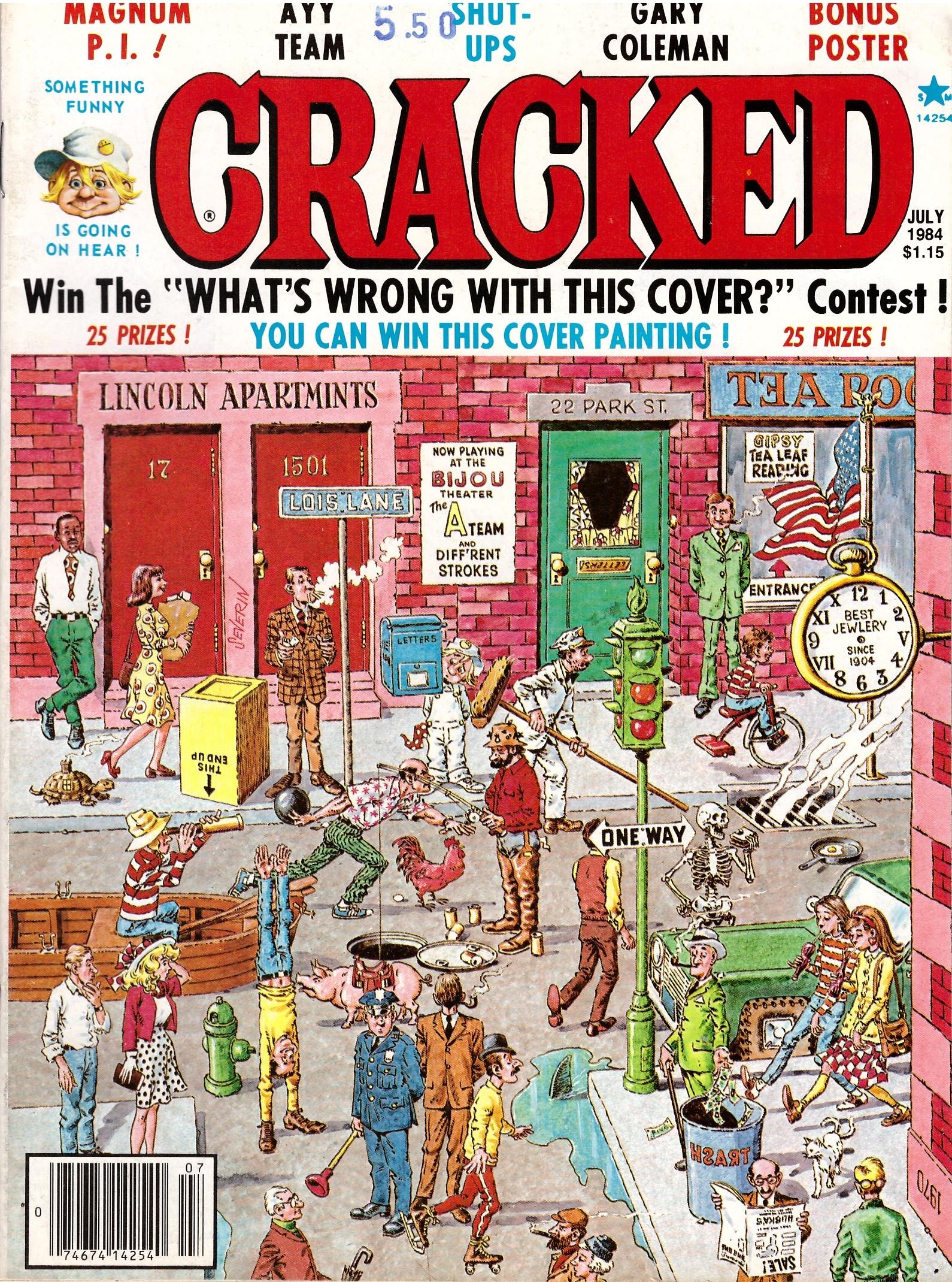 Cracked #204 • USA