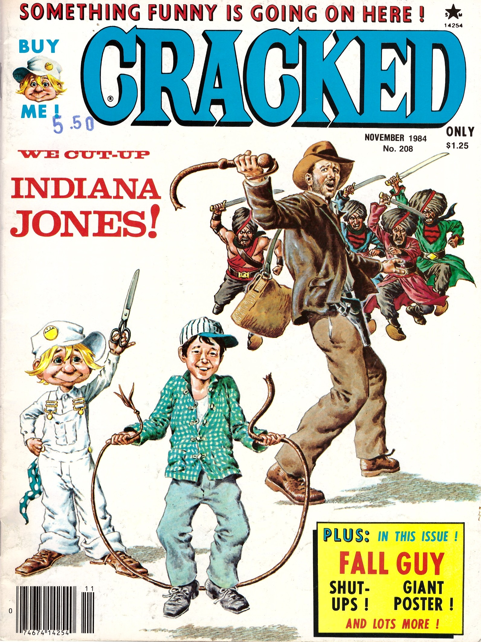 Cracked #208 • USA