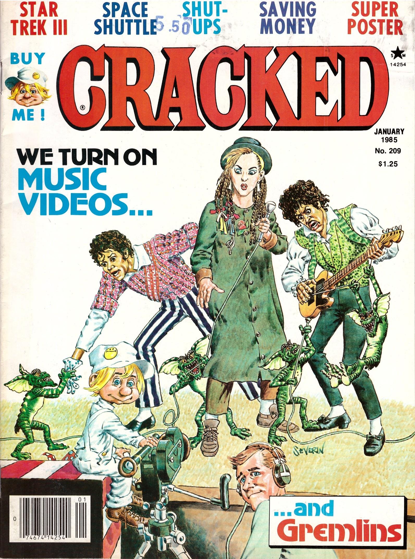 Cracked #209 • USA