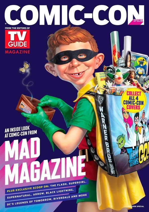 TV Guide Magazine - Comic-Con Special • USA • 1st Edition - New York
