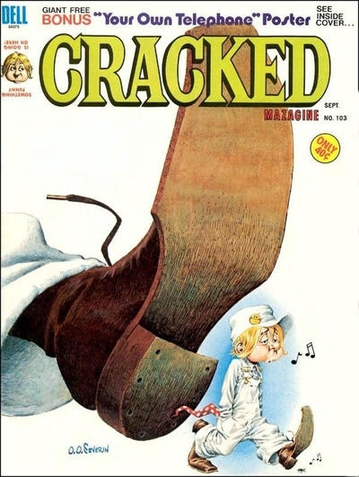 Cracked #103 • USA